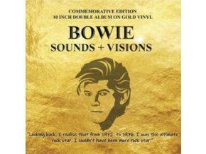 "DAVID BOWIE - Sounds & Visions (Gold Vinyl) (10"" Vinyl)"