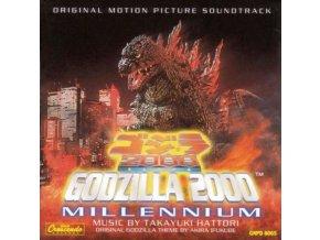 TAKAYUKI HATTORI - Godzilla 2000 - Millenium Ost (CD)