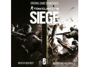 BEN FROST  PAUL HASLINGER - Tom Clancys Rainbow Six Siege  Original Game Soundtrack (CD)