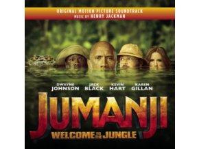 HENRY JACKMAN - Jumanji - Welcome To The Jungle - OST (CD)