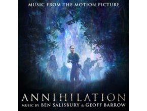 BEN SALISBURY & GEOFF BARROW - Annihilation - OST (CD)