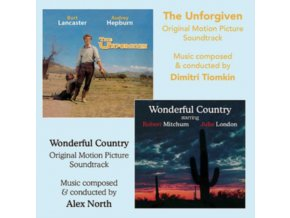 ALEX NORTH - The Unforgiven / Wonderful Country - OST (CD)
