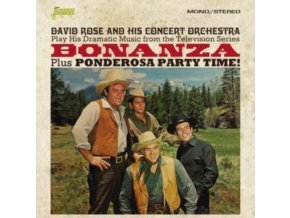 VARIOUS ARTISTS - Bonanza! Plus Ponderosa Party Time (CD)
