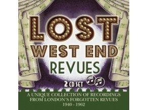 ORIGINAL LONDON CAST RECORDINGS - Lost West End Revues - Londons Forgotten Revues 1940-1962 (CD)