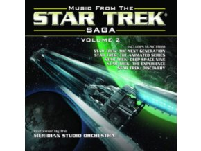 MERIDIAN STUDIO ORCHESTRA - Music From The Star Trek Saga Volume 2 (CD)