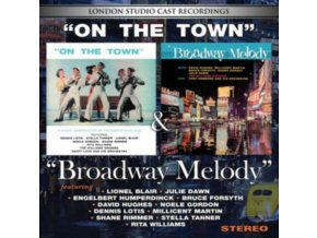 LONDON STUDIO CAST RECORDINGS - On The Town / Broadway Melody (CD)