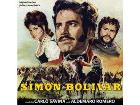 CARLO SAVINA & ALDEMARO ROMERO - Simon Bolivar (CD)