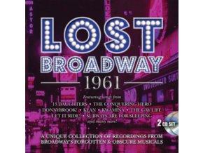 ORIGINAL BROADWAY CAST RECORDINGS - Lost Broadway 1961 - Broadways Forgotten & Obscure Musicals (CD)