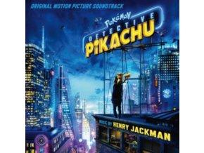 HENRY JACKMAN - Pokeman Detective Pikachu - OST (CD)