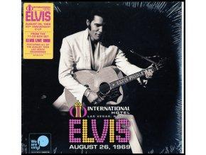 ELVIS PRESLEY - Live At The International Hotel. Las Vegas. Nv Aug (LP)