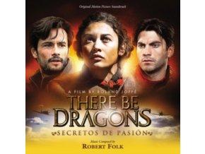 ORIGINAL SOUNDTRACK / ROBERT FOLK - There Be Dragons: Secretos De Pasion (CD)