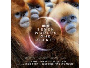 HANS ZIMMER & JACOB SHEA - Seven Worlds One Planet (CD)