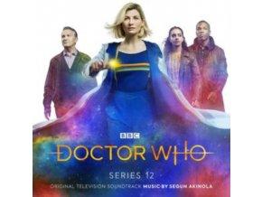 SEGUN AKINOLA - Doctor Who Series 12 - Original TV Soundtrack (CD)