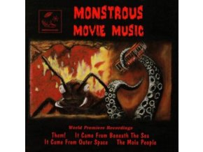 VARIOUS ARTISTS - Monstrous Movie Music. Volume 1 (CD)