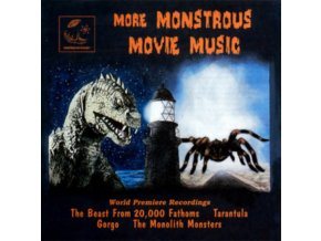 VARIOUS ARTISTS - More Monstrous Movie Music Vol. 2 (CD)