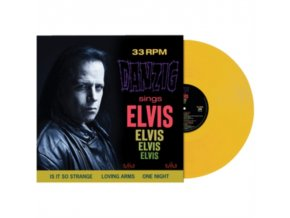 DANZIG - Sings Elvis (Yellow Vinyl) (LP)