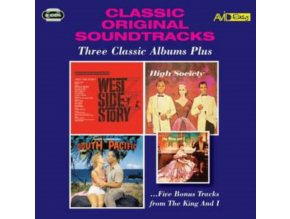 VARIOUS ARTISTS - Classic Original Soundtracks - Three Classic Albums Plus (CD)