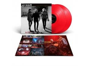 QUEEN & ADAM LAMBERT - Live Around The World (Red Vinyl) (LP)