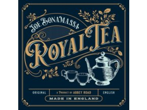 JOE BONAMASSA - Royal Tea (Gold Vinyl) (+Artbook) (LP + CD)