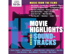 VARIOUS ARTISTS - 15 Movie Highlights - OST (CD Box Set)