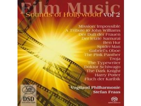 PHILHARMONIE FRAAS / VOGTLAND - Film Music - Sounds Of Hollywo (SACD)