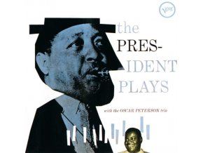 OSCAR PETERSON TRIO - The President Plays With The Oscar Peterson Trio (LP)