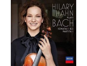 HILARY HAHN - Plays Bach - Violin Sonatas Nos 1 & 2 (LP)