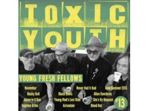 YOUNG FRESH FELLOWS - Toxic Youth (Toxic Transparent Green Vinyl) (Fanzine-Style Packaging & Booklet) (RSD 2020) (LP)