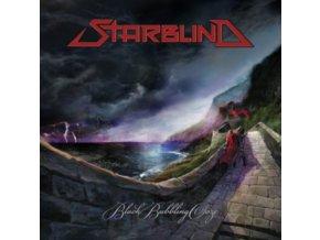 STARBLIND - Black Bubbling Ooze (Red/Black Splatter Vinyl) (LP)