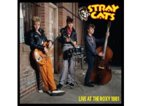 STRAY CATS - Live At The Roxy 1981 (Splattered Vinyl) (LP)
