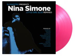 NINA SIMONE AND DJ MAESTRO - Little Girl Blue Remixed (Coloured Vinyl) (LP)