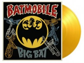 "BATMOBILE - Big Bat Classic Hits + Horns (Coloured Vinyl) (10"" Vinyl)"