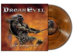 DREAM EVIL - Dragonslayer (Trans Orange/Black Marble Vinyl) (LP)