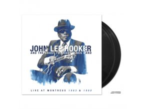JOHN LEE HOOKER AND THE COAST TO COAST BLUES BAND - Live At Montreux 1983 & 1990 (LP)