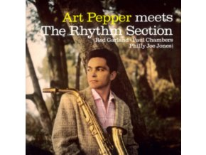 ART PEPPER - Meets The Rhythm Section (Transparent Yellow Vinyl) (LP)