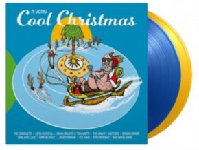 VARIOUS ARTISTS - A Very Cool Christmas (Transparent Vinyl) (LP)