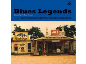 VARIOUS ARTISTS - Blues Legends (LP)