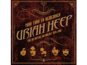 URIAH HEEP - Your Turn To Remember: The Definitive Anthology 1970-1990 (LP)