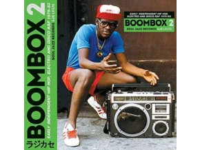 SOUL JAZZ RECORDS PRESENTS - Boombox 2: Early Independent Hip Hop. Electro And Disco Rap 1979-83 (LP)