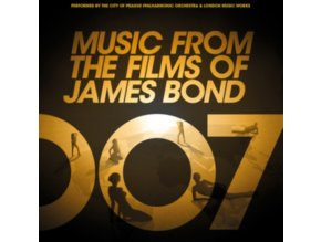 CITY OF PRAGUE PHILHARMONIC ORCHESTRA - Music From The Films Of James Bond (LP)