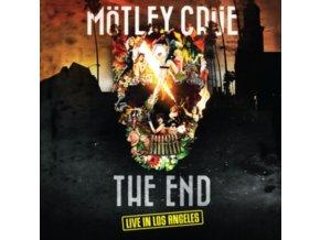MOTLEY CRUE - The End (Coloured Vinyl) (LP + DVD)
