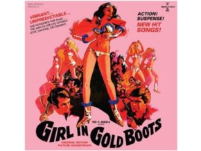 VARIOUS ARTISTS - Girl In Gold Boots - Original Soundtrack (CD + DVD)
