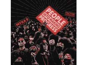 "MYKA 9 AND FACTOR CHANDELIER - People Into Making Progress (7"" Vinyl)"