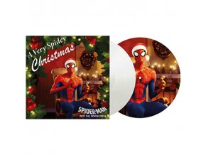 "VARIOUS ARTISTS - A Very Spidey Christmas (Coloured Vinyl) (10"" Vinyl)"