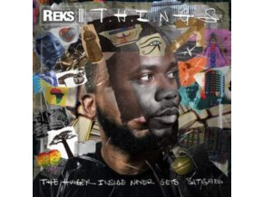 REKS - T.H.I.N.G.S. (The Hunger Inside Never Gets Sat) (LP)