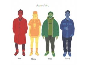JOAN OF ARC - Tim Melina Theo Bobby (LP)