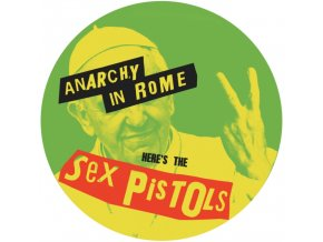 SEX PISTOLS - Anarchy In Rome (Picture Disc) (LP)
