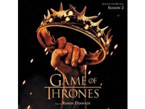 ORIGINAL TV SOUNDTRACK / RAMIN DJAWADI - Game Of Thrones: Season 2 (LP)