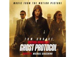 ORIGINAL SOUNDTRACK / MICHAEL GIACCHINO - Mission: Impossible: Ghost Protocol (CD)