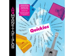MAGNETIC FIELDS - Quickies (Transparent Magenta Vinyl) (Black Friday 2020) (LP)